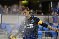 San Jose, CA - Saturday September 16, 2017: Chris Wondolowski prior to a Major League Soccer (MLS) match between the San Jose Earthquakes and the Houston Dynamo at Avaya Stadium.