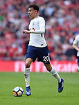 Dele Alli of Tottenham Hotspur during the FA cup semi-final match at Wembley Stadium, London. Picture date 21st April, 2018. Picture credit should read: Robin Parker/Sportimage