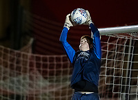 Bolton Wanderers' Matthew Alexander warming up before the match <br /> <br /> Photographer Andrew Kearns/CameraSport<br /> <br /> The EFL Sky Bet League One - Lincoln City v Bolton Wanderers - Tuesday 14th January 2020  - LNER Stadium - Lincoln<br /> <br /> World Copyright © 2020 CameraSport. All rights reserved. 43 Linden Ave. Countesthorpe. Leicester. England. LE8 5PG - Tel: +44 (0) 116 277 4147 - admin@camerasport.com - www.camerasport.com