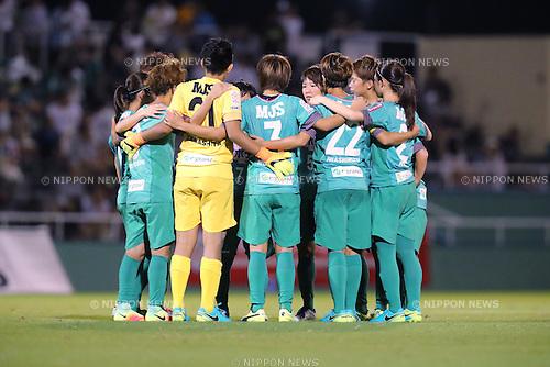 NTV Beleza team group, <br /> SEPTEMBER 3, 2016 - Football / Soccer : <br /> Plenus Nadeshiko League Cup 2016 Division 1 Final match <br /> between NTV Beleza 4-0 Jef Chiba Ladies <br /> at Ajinomoto Field Nishigaoka in Tokyo, Japan. <br /> (Photo by AFLO SPORT)