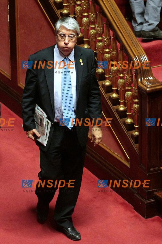 Carlo Giovanardi<br /> Roma 04/09/2013 Prima seduta in Aula per i Senatori a vita appena nominati<br /> First session for the new appointed Senators for life. <br /> Photo Samantha Zucchi Insidefoto