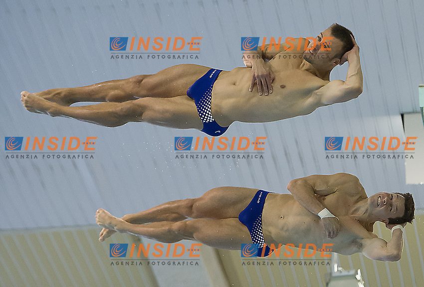 HAUSDING Patrick  - KLEIN Sascha   Germany GER<br /> gold medal<br /> Arena European Diving Championships<br /> 22 June 2013 Rostock GER Germany<br /> Day 05  10 m. platform Men Synchro<br /> Photo Giorgio Scala Insidefoto