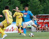 Dries Mertens  of Napoli  during a preseason friendly soccer match against Aunania in Dimaro's Stadium   12 July 2017  .it