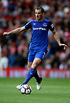 Leighton Baines of Everton during the premier league match at the Old Trafford Stadium, Manchester. Picture date 17th September 2017. Picture credit should read: Simon Bellis/Sportimage
