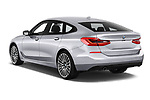 Car pictures of rear three quarter view of a 2018 BMW 6 series gran turismo Sport 5 Door Hatchback angular rear