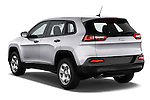 Car pictures of rear three quarter view of 2014 JEEP Cherokee Longitude 4 Door SUV Angular Rear