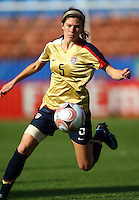 Erika Tymrak (USA)..FIFA U17 Women's World Cup, USA v Korea Republic, Waikato Stadium, Hamilton, New Zealand, Sunday 9 November 2008. Photo: Renee McKay/PHOTOSPORT