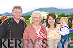 Watching the Queens horse running at the Killarney races on Tuesday was l-r: Jerry, Teresa Sheehy, Teresa and Conor Carey Milltown