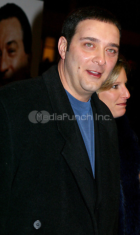 RAYMOND FRANZA<br /> K27591JBB           SD1202<br /> WORLD PREMIERE OF &quot;ANALYZE THAT&quot; AT THE ZIEGFELD THEATRE IN NEW YORK CITY.<br /> TO BENEFIT THE CHILDREN OF BELLEVUE INC.<br /> PHOTO BY:J John Barrett/ PHOTOlink.net/ MediaPunch   &copy;2002