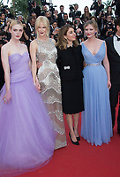 Elle Fanning, Nicole Kidman, Sofia Coppola &amp; Kirsten Dunst at the premiere for &quot;The Beguiled&quot; at the 70th Festival de Cannes, Cannes, France. 24 May 2017<br /> Picture: Paul Smith/Featureflash/SilverHub 0208 004 5359 sales@silverhubmedia.com