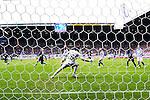 Nederland, Heerenveen, 6 mei 2012.Seizoen 2011/2012.Eredivisie.Heerenveen-Feyenoord 2-3.Otman Bakkal van Feyenoord scoort de 1-1