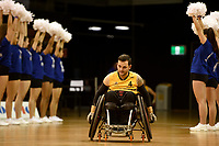 Opening Ceremony - Jake Howe (Aus)<br /> Australian Wheelchair Rugby Team<br /> 2018 IWRF WheelChair Rugby <br /> World Championship / Day 1<br /> Sydney  NSW Australia<br /> Sunday 5th August 2018<br /> &copy; Sport the library / Jeff Crow / APC