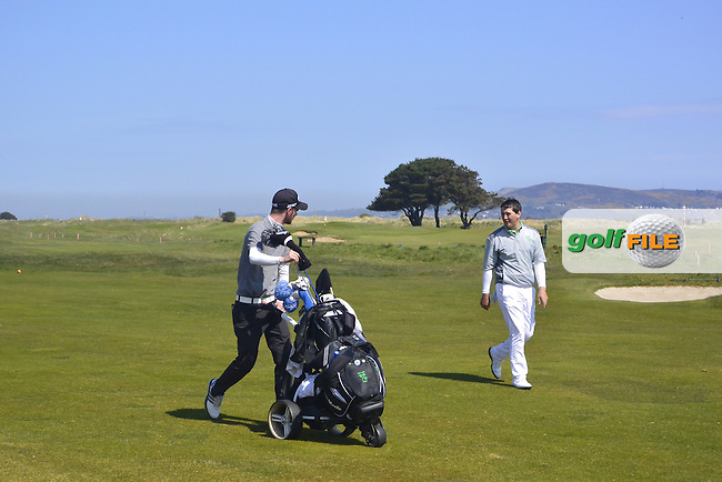 Colm Campbell Jnr (Warrenpoint) on the 14th during Round 4 of the Flogas Irish Amateur Open Championship at Royal Dublin on Sunday 8th May 2016.<br /> Picture:  Thos Caffrey / www.golffile.ie