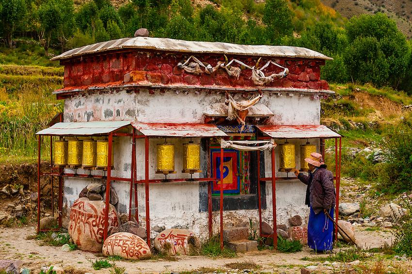 Doilungdeqen, Tibet (Xizang), China.