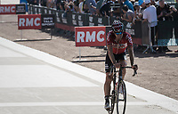 Jurgen Roelandts (BEL/Lotto-Soudal) rolling in<br /> <br /> 115th Paris-Roubaix 2017 (1.UWT)<br /> One Day Race: Compi&egrave;gne &rsaquo; Roubaix (257km)