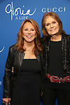 "Marlo Thomas and Gloria Steinem attends the Opening Night Performance of ""Gloria: A Life"" on October 18, 2018 at the Daryl Roth Theatre in New York City."