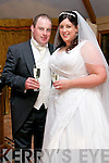 Louise Nolan, daughter of Carmel and Robert, from Valencia Island, and Shane Lyons, son of Maureen and the late Tom, from Lixnaw, who were married at 1.30pm on the 15th of November 2013 in Annascaul Church by fr. Maurice Brick. Best Man was Patrick Windle and Groomsmen were Seamus Cooley and Paul O'Connell. Bridesmaids were Rebecca Nolan, Dererca Nolan, Tanya Crean Nolan and Sadbh O'Shea. Flowergirls were Ava Lyons, Doireann O'Shea and Farrah Windle. The reception was held at the Skellig Hotel, Dingle. The couple will reside in Perth, Australia.