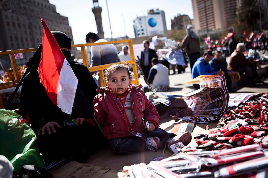 """.27/01/2012..Egyptians are marching to honour and mark the first anniversary of the 'Friday of Rage'..On last year's """"Friday of Rage"""", Hosni Mubarak's security forces fired on protesters who marched into the square, killing and wounding hundreds. ..Les Egyptiens ont organisé une marche  pour honorer et commémorer le premier anniversaire du «vendredi de colere»...L'année dernière  pendant le """"Vendredi de colere», les forces de sécurite de Hosni Moubarak ont tire sur les manifestants qui ont défile sur la place, tuant et blessant des centaines."""