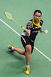 Red Bull Badminton Athlete Tai Tzu Ying competes during the Semi Final of the Yonex Open Chinese Taipei 2015 at the Taipei Arena on 18 July 2015 in Taipei, Taiwan. Photo by Aitor Alcalde / Power Sport Images
