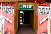 West paddock centre entrance/exit......© Phill Heywood.tel 07806 775649