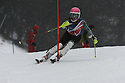 04/01/2015 under 16 girls slalom run 1