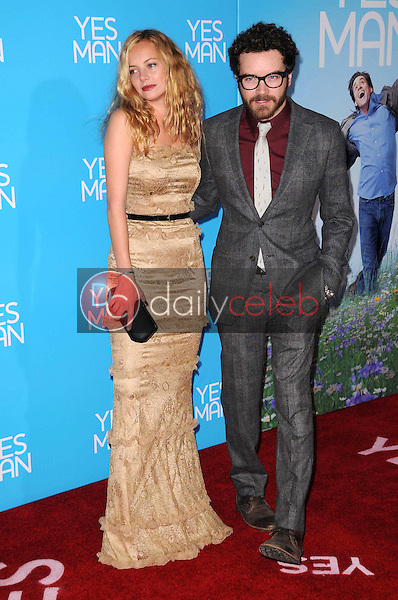 Bijou Phillips and Danny Masterson <br /> at the Los Angeles Premiere of 'Yes Man'. Mann VIllage Theater, Westwood, CA. 12-17-08<br /> Dave Edwards/DailyCeleb.com 818-249-4998