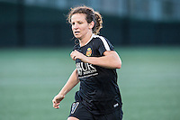 Allston, MA - Saturday Sept. 24, 2016: Elizabeth Eddy prior to a regular season National Women's Soccer League (NWSL) match between the Boston Breakers and the Western New York Flash at Jordan Field.