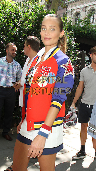 August 25, 2015: Hannah Davis,  at Tommy Hilfiger &amp; Rafael Nadal Launch Global Brand Ambassadorship at Bryant Park  in New York .<br /> CAP/MPI/RW<br /> &copy;RW/MPI/Capital Pictures