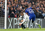 Chelsea's Michy Batsuayi scoring his sides sixth goal during the champions league match at Stamford Bridge Stadium, London. Picture date 12th September 2017. Picture credit should read: David Klein/Sportimage