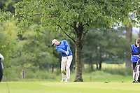 Chis Selfridge (NIR) plays his 2nd shot on the 15th hole during Sunday's Final Round of the Northern Ireland Open 2018 presented by Modest Golf held at Galgorm Castle Golf Club, Ballymena, Northern Ireland. 19th August 2018.<br /> Picture: Eoin Clarke | Golffile<br /> <br /> <br /> All photos usage must carry mandatory copyright credit (&copy; Golffile | Eoin Clarke)
