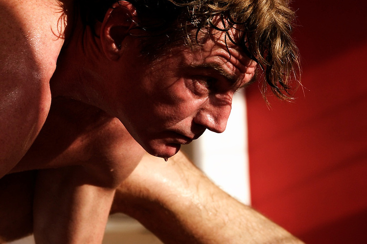 Misore (ashtanga) practice with David Keil in Red Pearl Yoga, Fort Lauderdale, FL. Intense practice and determination.