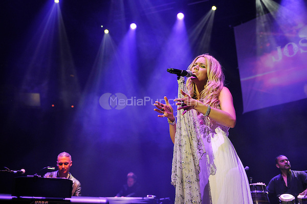 LONDON, ENGLAND - MAY 15: Nitin Sawhney and Joss Stone performing at Camden Roundhouse on May 15, 2016 in London, England.<br /> CAP/MAR<br /> &copy;MAR/Capital Pictures /MediaPunch ***NORTH AMERICA AND SOUTH AMERICA ONLY***