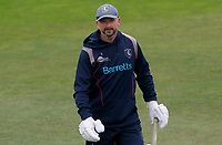 Darren Stevens of Kent walks back to the players dressing room prior to Kent CCC vs Essex CCC, Friendly Match Cricket at The Spitfire Ground on 27th July 2020