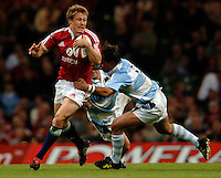 2005 British & Irish Lions vs Argentina, at The Millennium Stadium, Cardiff, WALES played on  23.05.2005, Jonny Wilkinson.  Photo  Peter Spurrier. .email images@intersport-images...
