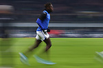 Duvan Zapata of Atalanta warms up before the Serie A match at Giuseppe Meazza, Milan. Picture date: 11th January 2020. Picture credit should read: Jonathan Moscrop/Sportimage