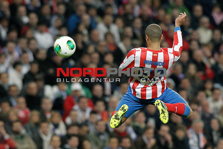 Atletico de Madrid's Joao Miranda during spanish KIng's Cup Final match.May 17,2013. Foto © nph / Acero)