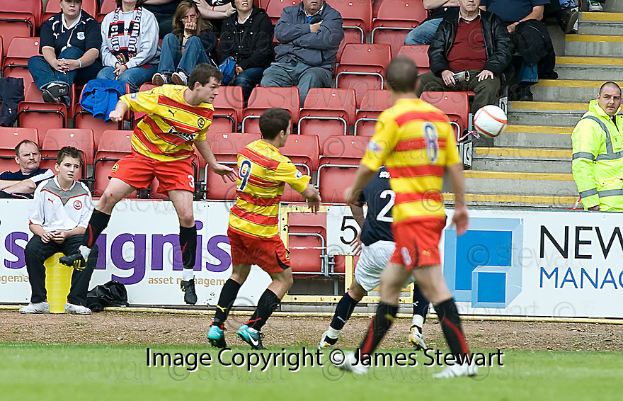 14/08/2010   Copyright  Pic : James Stewart.sct_jsp006_partick_th_v_dundee  .::  PADDY BOYLE HEADS HOME THE WINNING GOAL ::.James Stewart Photography 19 Carronlea Drive, Falkirk. FK2 8DN      Vat Reg No. 607 6932 25.Telephone      : +44 (0)1324 570291 .Mobile              : +44 (0)7721 416997.E-mail  :  jim@jspa.co.uk.If you require further information then contact Jim Stewart on any of the numbers above.........