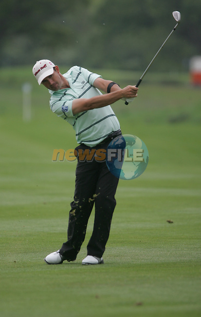 Padraig Harrington chips to within 6 inches on the 9th green during the third round of the 2008 Irish Open at Adare Manor Golf Resort, Adare,Co.Limerick, Ireland 17th May 2008 (Photo by Eoin Clarke/GOLFFILE)