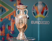 20161216 - AMSTERDAM , NETHERLANDS : illustration picture from the Euro Champions Cup during the UEFA EURO 2020 Host City Logo Launch event at the Hermitage Amsterdam Venue in Amsterdam , The Netherlands , Friday 16 th December 2016 . PHOTO UEFA.COM | SPORTPIX.BE | DAVID CATRY
