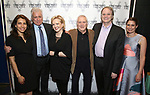 Sarah Stern, David Thompson, Susan Stroman, John Kander, Douglas Aibel and Suzanne Appel attends the Opening Night Performance of 'The Beast In The Jungle' at The Vineyard Theatre on May 23, 2018 in New York City.