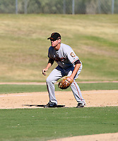 Matt Downs / San Francisco Giants 2008 Instructional League..Photo by:  Bill Mitchell/Four Seam Images