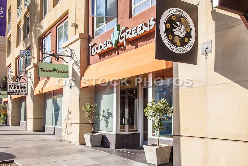 Shops Along Colorado Boulevard Pasadena