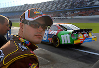 Feb 11, 2007; Daytona, FL, USA; Nascar Nextel Cup driver David Gilliland (38) during qualifying for the Daytona 500 at Daytona International Speedway. Mandatory Credit: Mark J. Rebilas