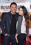 Oscar de la Hoya and Atiana de la Hoya attends The Disney Premiere of McFarland, USA held at The El Capitan Theater  in Hollywood, California on February 09,2015                                                                               © 2015 Hollywood Press Agency