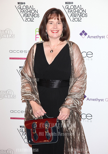 Julie Deane arriving for the WGSN Global Fashion Awards at The Savoy Hotel, London. 05/11/2012 Picture by: Alexandra Glen / Featureflash