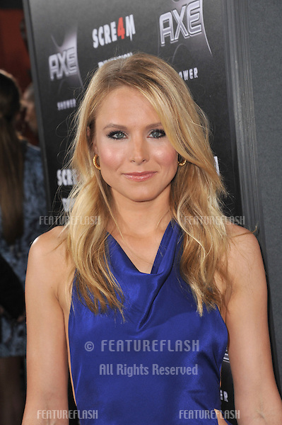 "Kristen Bell at the world premiere of her new movie ""Scream 4"" at Grauman's Chinese Theatre, Hollywood,.April 11, 2011  Los Angeles, CA.Picture: Paul Smith / Featureflash"