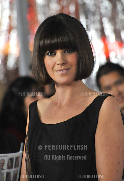 """British TV presenter Dawn Porter at the world premiere of """"This Is 40"""" at Grauman's Chinese Theatre, Hollywood..December 12, 2012  Los Angeles, CA.Picture: Paul Smith / Featureflash"""