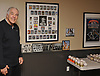 Ed Kranepool, an 18-year member of the New York Mets and the organization's all-time leader in games played (1,853), poses for a portrait inside the memorabilia room of his home in Jericho on Friday, March 23, 2018.