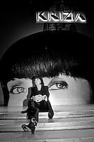 la stilista Mariuccia Mandella in arte Krizia