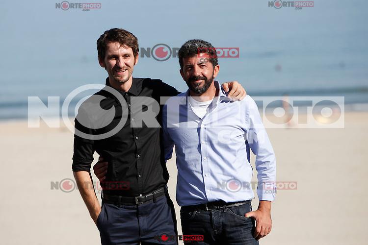 Spanish actor Raul Arevalo and the director Alberto Rodriguez present the fim 'La Isla Minima' during the 62st San Sebastian Film Festival in San Sebastian, Spain. September 20, 2014. (ALTERPHOTOS/Caro Marin) /NortePhoto.com /NortePhoto.com